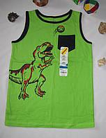 Спортивная майка Jumping Beans Динозавр рост 122 см зеленая 07081