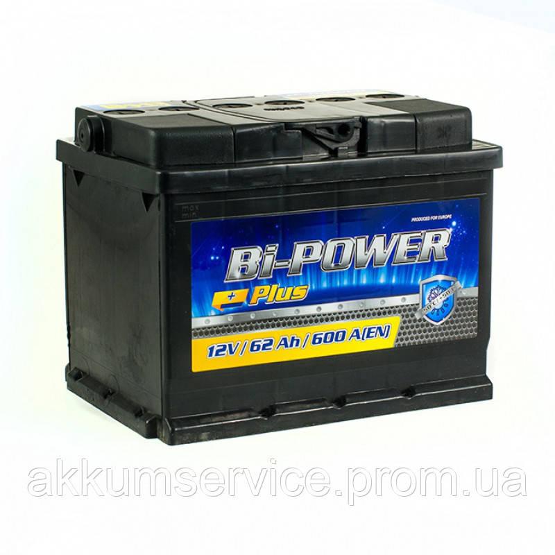Аккумулятор автомобильный BI-POWER 60AH L+ 510A