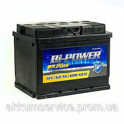 Аккумулятор автомобильный BI-POWER 60AH R+ 510A