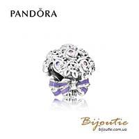 Pandora Шарм ПРАЗДНИЧНЫЙ БУКЕТ #797260NLC серебро 925 Пандора оригинал