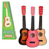 Детская гитара струнная M 1370
