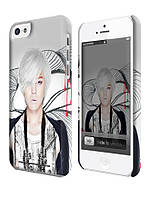 Чехол для iPhone 4/4s/5/5s/5с k-pop dragon