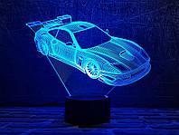 """3D светильник ночник """" Автомобиль 24  """" 3DTOYSLAMP, фото 1"""