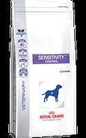 Royal Canin SENSITIVITY CANINE1,5кг диета для собак при пищевой аллергии или пищевой непереносимости.