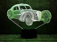 """3D светильник ночник """" Автомобиль 35  """" 3DTOYSLAMP, фото 1"""