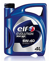 Масло моторое (в двигатель) 5W40 4L Evolution 900 NF - синтетика (аналог 5W40 Excellium NF)