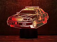 """3D светильник ночник """"Автомобиль 30"""" 3DTOYSLAMP, фото 1"""
