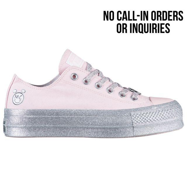 ece41c438414 Кроссовки Кеды (Оригинал) Converse x Miley Cyrus All Star Lift Ox Pink  Dogwood White Black