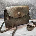 Стильная женская сумка среднего размера, фото 5