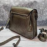 Стильная женская сумка среднего размера, фото 6