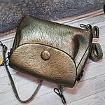 Стильная женская сумка среднего размера, фото 7