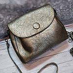 Стильная женская сумка среднего размера, фото 4