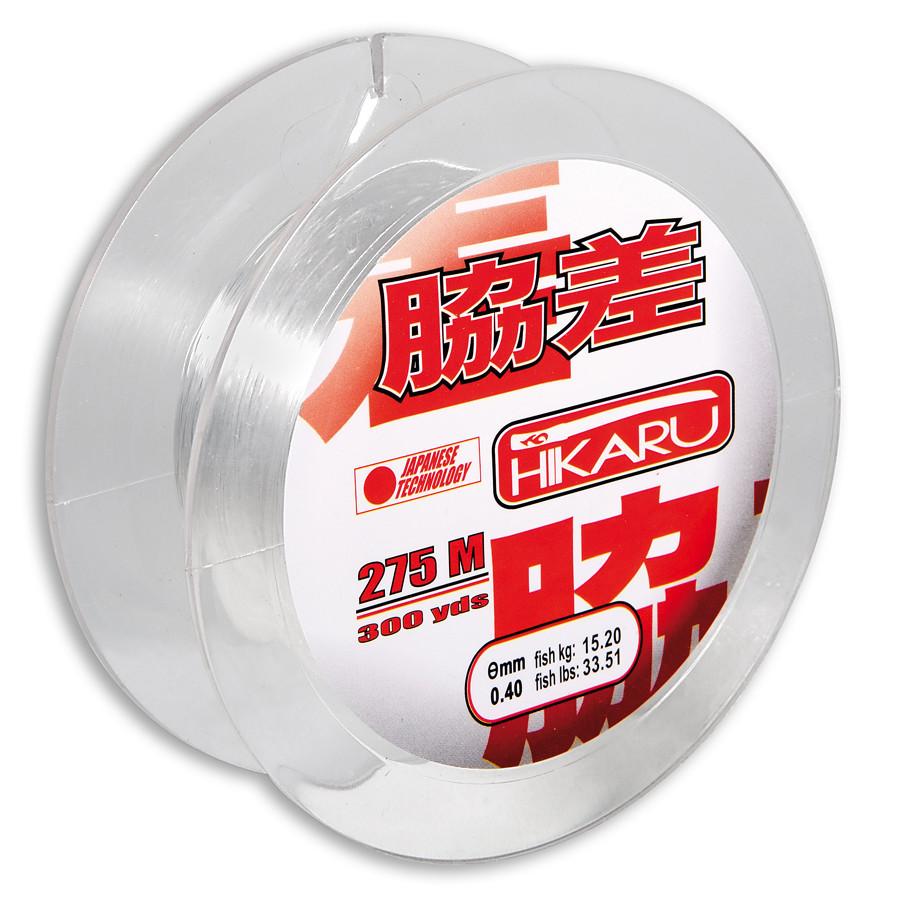 Леска Lineaeffe Hikaru 275м  0.25мм  FishTest 8.55кг (прозрачная) Made in Japan