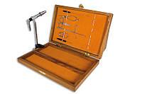 Набор инструментов Lineaeffe для вязания мушек 7 наимен. в деревянной коробке