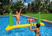 56508 Бассейн волейбол 239*64*91см, Надувная сетка, Игра на воде, Волейбол на воде, Надувной игровой центр