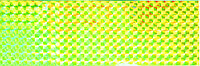 Наклейка 3D Balzer для блесен yellow/waves 2шт.