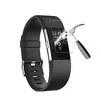 Плёнка защитная на экран для фитнес браслета Fitbit Charge 2 TPU прозрачная SKU0000955