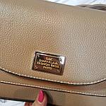 Сумочка,цвет бежево-коричневый , фото 5