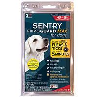 Капли FiproGuard Max (Фипрогард) от блох и клещей для собак 20-40 кг, 2,68 мл