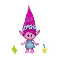 Dreamworks Коллекционная фигурка тролль Розочка (Поппи) с малышом Trolls Poppy and Troll Baby