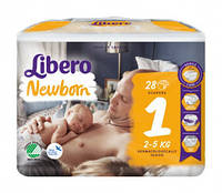 Подгузники Libero Newborn  все размеры