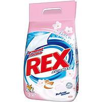 Стиральный порошок Rex 2 в 1 Миндальное молочко 3 кг