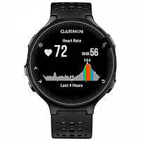 Умные часы Smart Watch Garmin Forerunner 235 with HRM 010-03717-6B Black/Gray спортивные беговые, фото 2