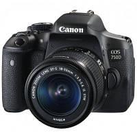 Цифровой фотоаппарат Canon EOS 750D 18-55 DC III KIT (0592C112AA), фото 1