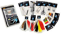 Набор инструментов Lineaeffe для вязания мушек в блистере