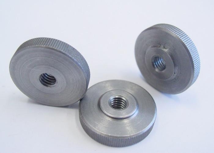 Гайка круглая низкая рифленая (с накаткой) DIN 467
