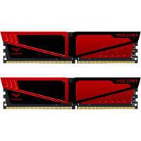 Модуль памяти для компьютера DDR4 32GB (2x16GB) 2666 MHz T-Force Vulcan Red Team (TLRED432G2666HC15BDC01), фото 1