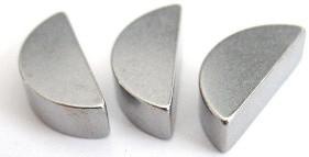 Шпонка сегментная DIN 6888