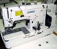 K-Chance KBH-783V промышленный петельный полуавтомат челночного стежка с каркасной нитью (прямая петля)