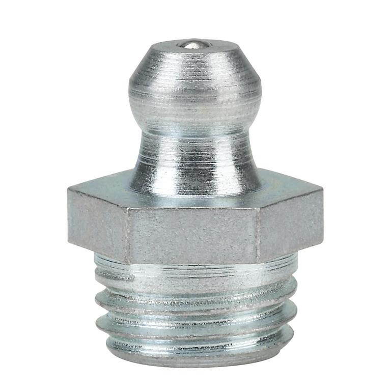 Пресс-маслёнка, прямая, 180 градусов, форма А  DIN 71412, ГОСТ 19853-74