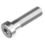 Нержавеющий винт с цилиндрической головкой и внутренним шестигранником под ключ, полная резьба А2/А4 DIN 7984