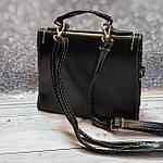 Стильная черная сумка , фото 6