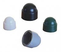 Колпачковые заглушки (Колпачки) для болтов с шестигранной головой Полиамид РА (ПА) 6 (Пластик)