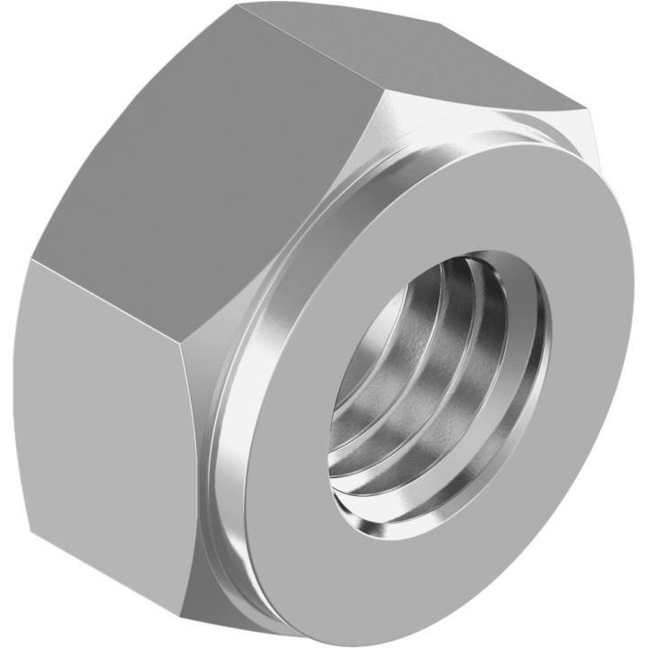 Гайка шестигранная для фланцевых соединений din 2510-5