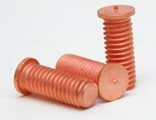 Шпилька приварная резьбовая PT омедненная DIN 32501 ISO 13918