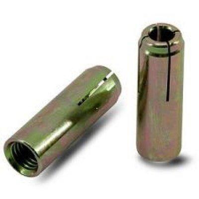 Анкер забиваемый (цанга), без насечек, стальной