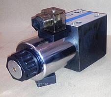 Гидрораспределители ВЕ10 с односторонним электромагнитным управлением
