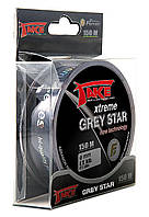 Леска Lineaeffe Take Xtreme GREY STAR 150м 0.177мм  FishTest-4.7кг  (серая)  Made in Japan
