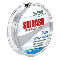 Леска Balzer Shirasu Fluorocarbon 0.22мм. 25м. Made in Japan