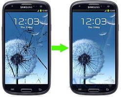 Замена тачскрина (стекла) Samsung Galaxy S3 I747, I9300, I9305, R530