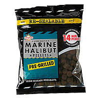 Пеллетс насадочный Dynamite Baits Marine Halibut Pre-Drilled Pellets 21mm 350g
