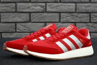 Мужские кроссовки Adidas Iniki Runner Boost Red, фото 3