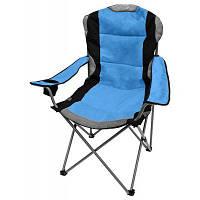 Стул Time Eco ТЕ-15 SD (5268548552428) складаний, поліестер, 100 кг, 4 кг, синій