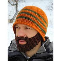Мужская шапка Борода