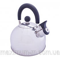 Чайник Vango Stainless Steel With Whistle 2.0L Silver