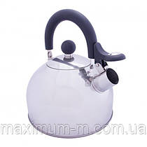 Чайник Vango Stainless Steel With Whistle 1.6L Silver
